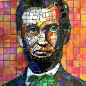 Abraham Lincoln Mosaic.