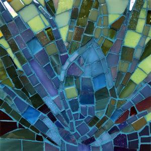 Agave mosaic.