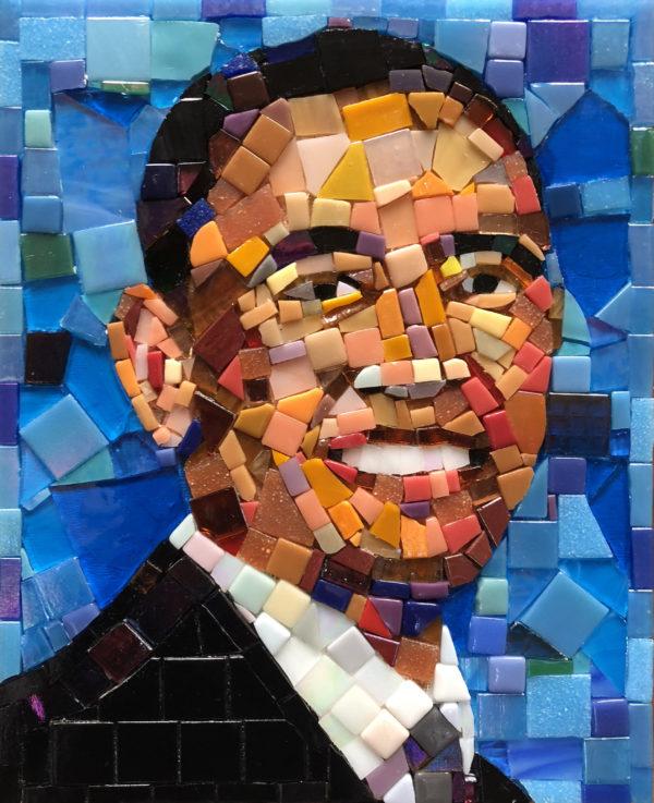 Barack Obama mosaic