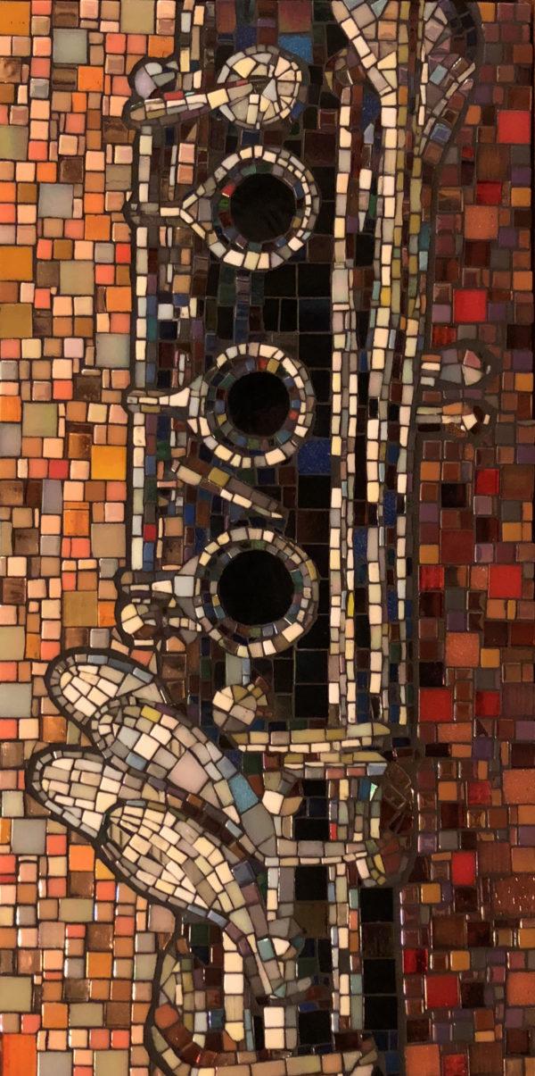 Clarinet mosaic