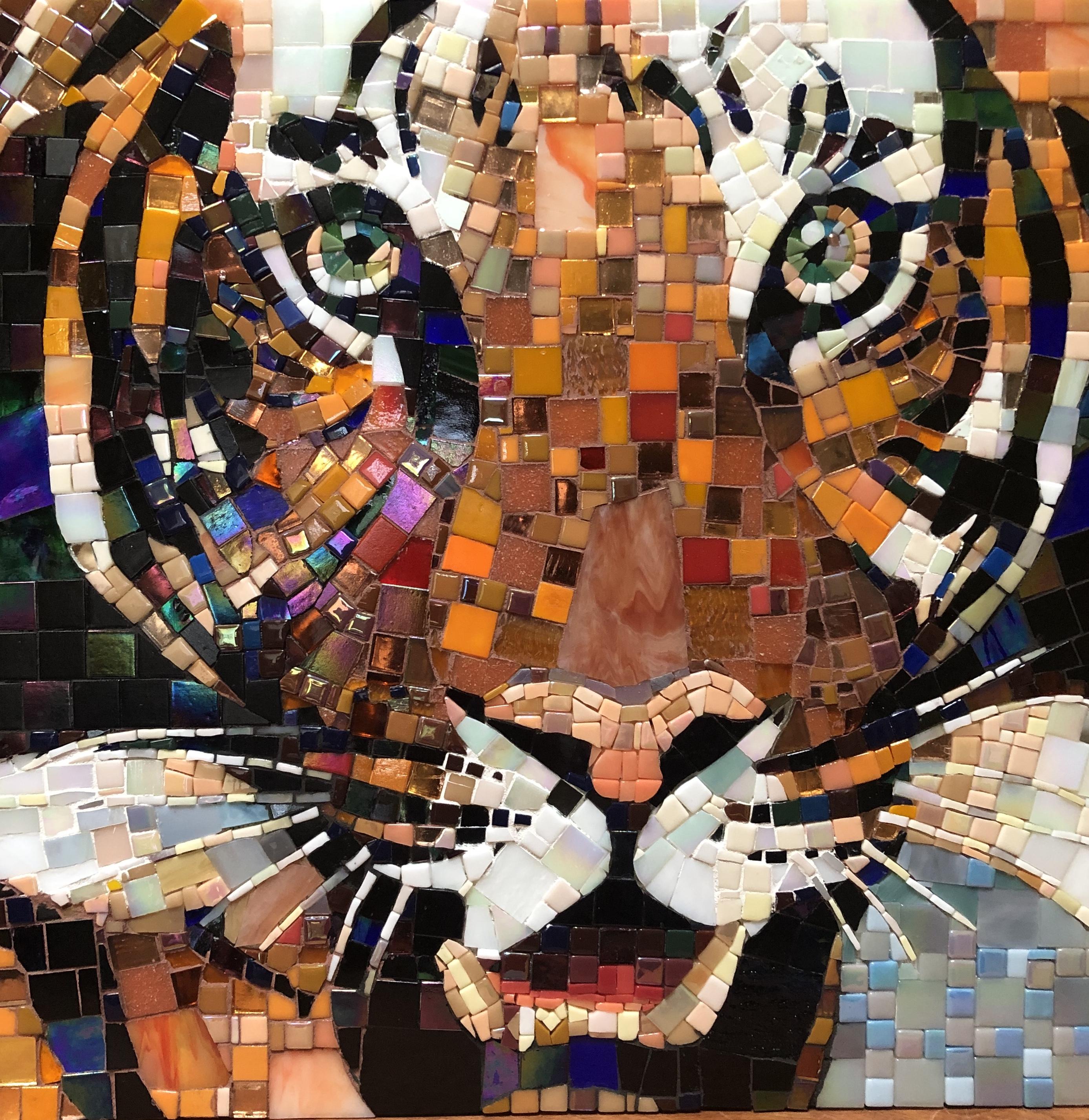 Tiger mosaic